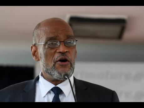 Dr Ariel Henry, Haiti's newly elected prime minister.