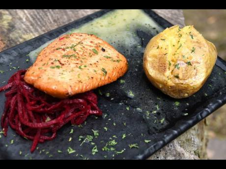 Pan-seared salmon, anyone? Yes, please!