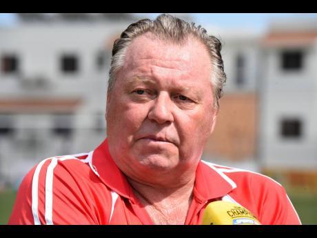 Mount Pleasant Football Academy head coach Walter Downes.