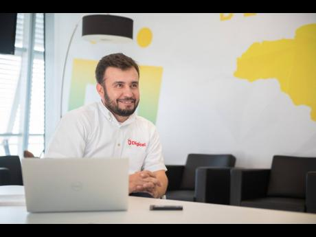 Digicel Jamaica CEO Jabbor Kayumov.