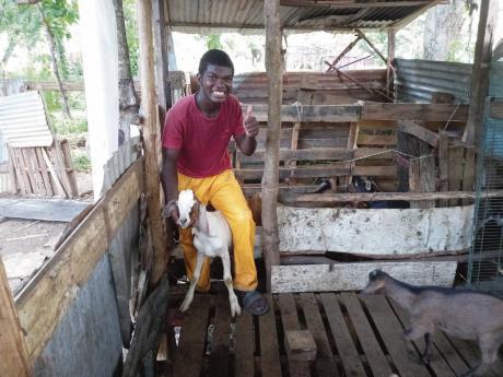 Young farmer Jason Malcolm.