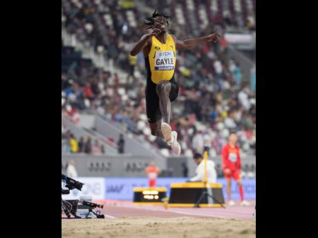 Reigning long jump world champion and Olympic Games debutant and medal hopeful Tajay Gayle.
