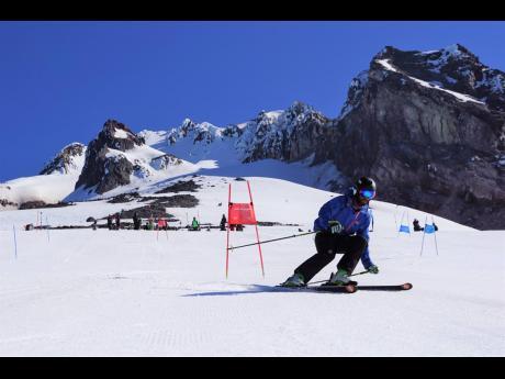 National skier, Ben Alexander.