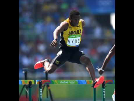 Hyde in action at the Rio Olympics
