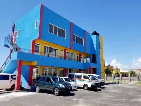 Grennell's Driving School in Portmore, which was opened in October 2020.