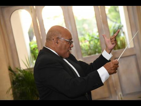 Musical director of the National Chorale of Jamaica, Winston Ewart, is now in production mode.