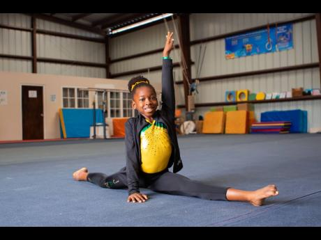 Representing Jamaica at the USA World Olympic Gymnastics Academy, Kyla Campbell excels in sports and academics. Representing Jamaica at the USA World Olympic Gymnastics Academy, Kyla Campbell excels in sports and academics. Representing Jamaica at the USA