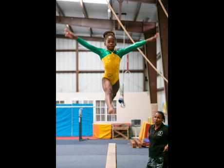 Gymnastics is a very physically demanding sport and, like all sports, engenders a high level of discipline which Kyla has in spades.
