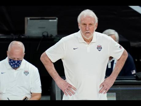 United States of America basketball team head coach Gregg Popovich.