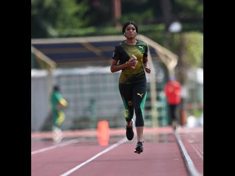 National quarter-miler Stacey Ann Williams.