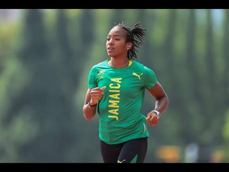 National 400m hurdler Leah Nugent.