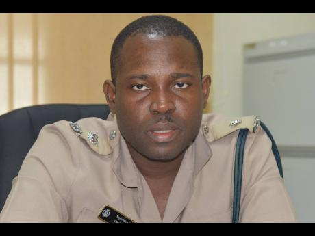 Superintendent Carlos Russell, head of the Trelawny Police Division.
