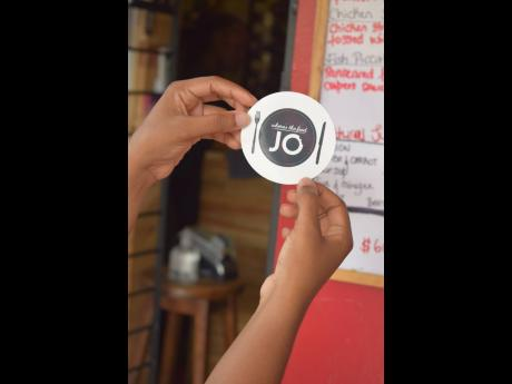 Restaurants that are high on Williams' list of recommendations are certified with an official sticker.