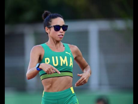 Jamaican 3000m steeplechase runner Aisha Praught-Leer.