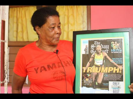 Hycenth (Gloria) Thompson, grandmother of Olympian Elaine Thompson-Herah reflects on past achievements of the Jamaican track star during a Gleaner interview.