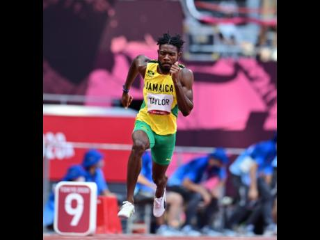 Jamaica's Christopher Taylor competing in the Men's 400m event at the Tokyo 2020 Olympics Games at the Tokyo Olympic Stadium in Tokyo, Japan on Sunday morning.