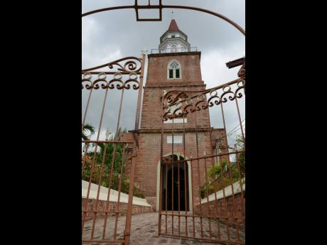 2014: The St. Jago Cathedral in Spanish Town.