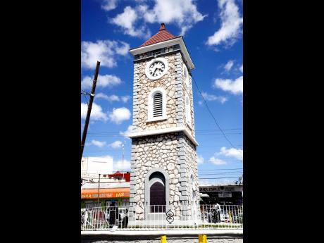 2017: May Pen Clock Tower in Clarendon.