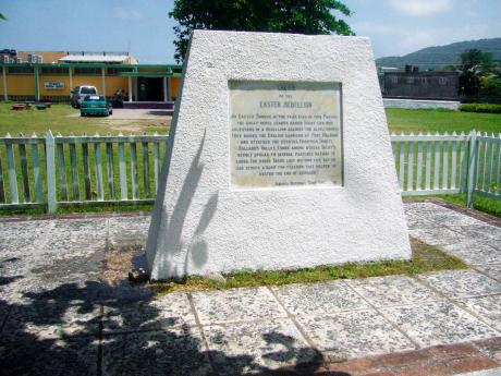 2013: A monument erected in honour of Tacky, leader of the 1760 Eastern Rebellion in St Mary.