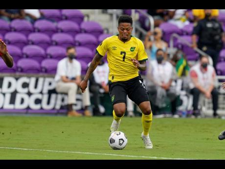 Jamaica forward Leon Bailey
