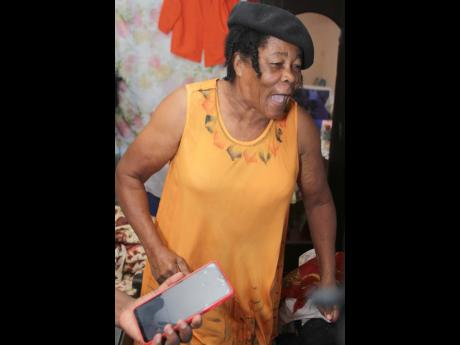 """""""Let it go gal, let it go gal! Weh mi send you a Tokyo go duh!? Nuh fi run! Cock up, gyal! Cock up, in di name of Jesus!"""" shouted Gloria Thompson, grandmother of Elaine Thompson Herah, as she won the Olympic 100m title with a 10.61 seconds run inside t"""