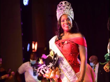 Miss Jamaica Festival Queen 2021 Dominique Reid.