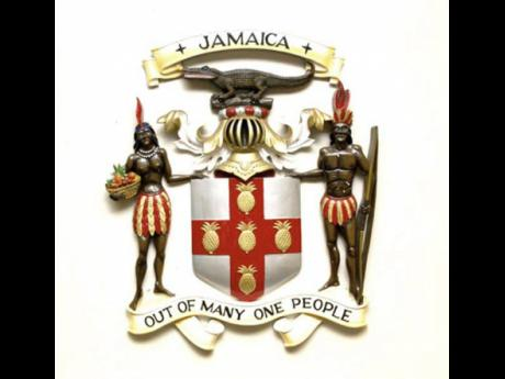 Jamaica Coat of Arms.