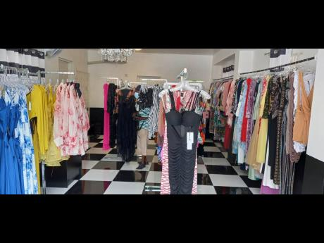 Some of the designer clothing and timeless fashion in ChicByT fashion store.