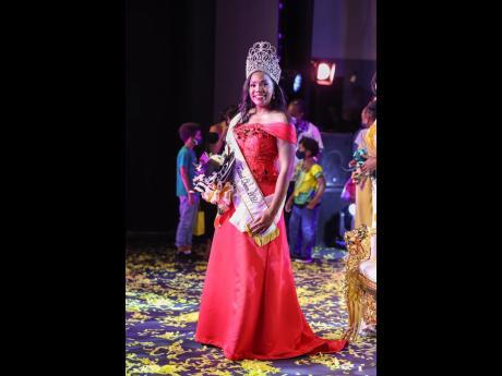 Dr Dominique Reid, Miss Jamaica Festival Queen, 2021.
