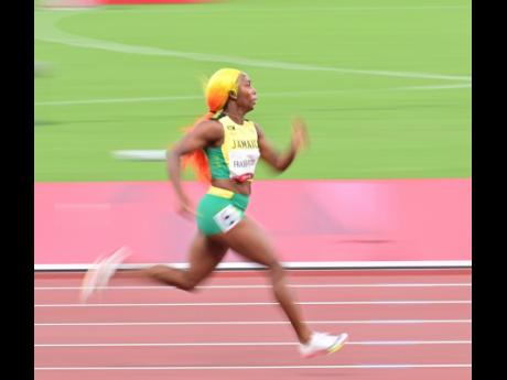 Shelly-Ann Fraser-Pryce, the most decorated woman athlete in the Olympic 100m, takes aim at the 200m against compatriot Elaine Thompson Herah.