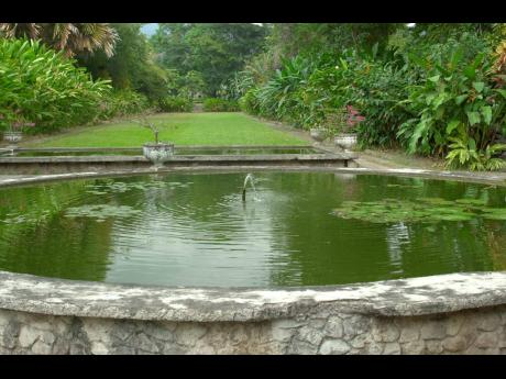 A file photo of the Hope Botanic Gardens.