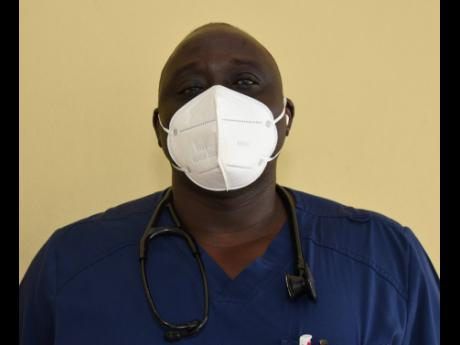 Dr Adedamola Soyibo, COVID-19 consultant at the University Hospital of the West Indies.