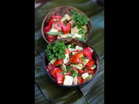 The Apple n' Tings salad is a great way to get the children to eat their vegetables because the apples makes it sweet.