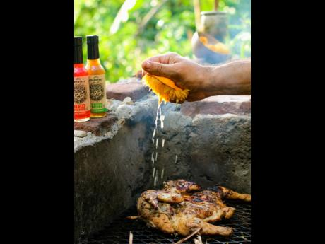 The citrus flavour is enhanced when roasted on a grill, and it's powerful when squeezed over meat.