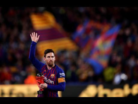 Former Barcelona forward Lionel Messi.