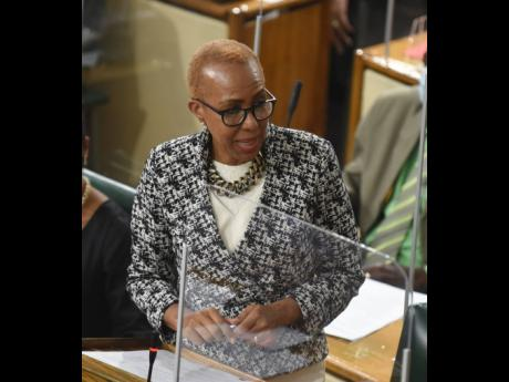 Education minister Fayval Williams