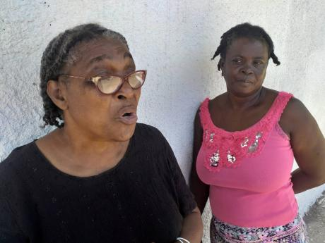 Janet Foster (left), president of the Summerfield Community Development Committee, and Doreen Graham, secretary, are hoping their new juice-making venture will reduce unemployment in the Clarendon district.