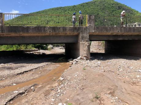 Residents of Ten Miles in Bull Bay, St Andrew, are blaming the Carib Cement Company for the pile up of silt in the Bull Park River. However, the company said it is not to be blamed as it has not been operating in the area for several years.