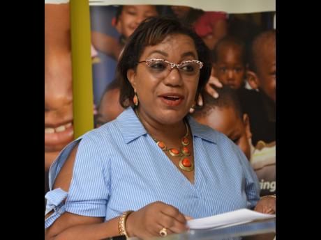 Rosalee Gage-Grey, chief executive officer, Child Protection and Family Services Agency.