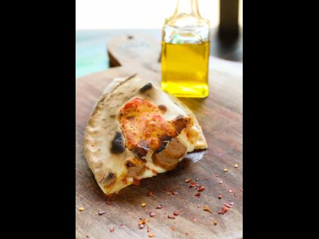 Not enough time to grab a pizza? Choose a calzone.