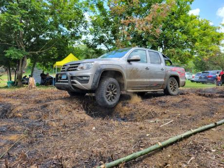 The VW Amarok proved that it could move with the best of them.