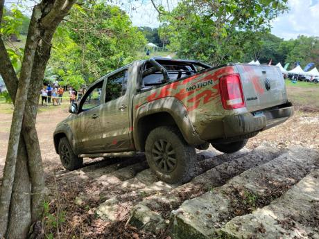 These steps were no joke, but the Amarok handled them gracefully.
