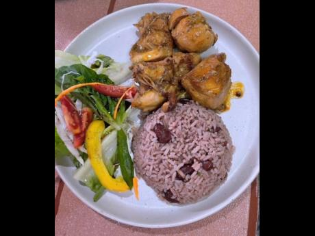 It doesn't get more Jamaican than brown stew chicken.