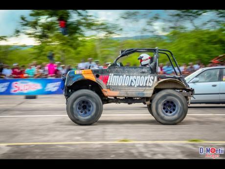 The versatile Suzuki racing machine from the Wilmotorsports' camp.