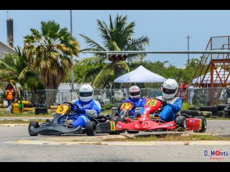 Some karters like 'air time.'