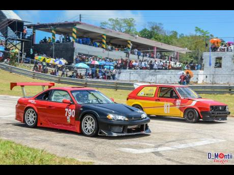 Turbo power versus natural-aspirated power at Dover Raceway.
