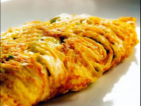 There are over 40 different omelette combinations on this chef's menu and Mr Breakfast promises that the quick service restaurant will provide options.