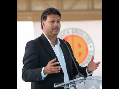 Ian Parsard, senior vice-president of Jamaica Broilers Group Limited.