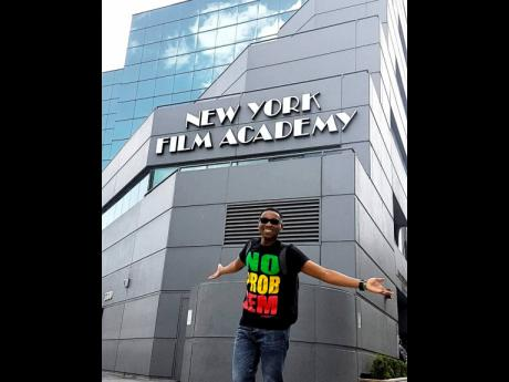 Tarik Holmes, a 2017 mass communications graduate from Northern Caribbean University in Mandeville got the opportunity of a lifetime to pursue his masters at New York Film Academy in Los Angeles, California.