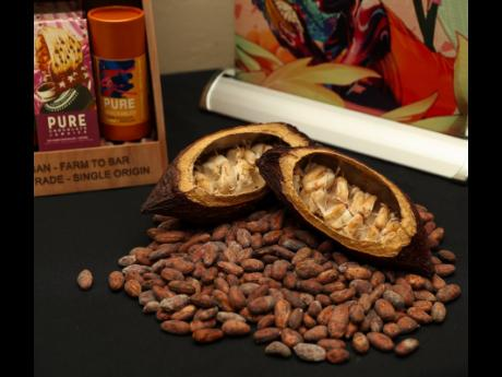 The cocoa beans are purchased directly from local farmers to create 100 per cent Jamaican handmade chocolate.